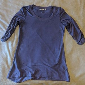 Athleta Purple Long Sleeve T-Shirt Tunic